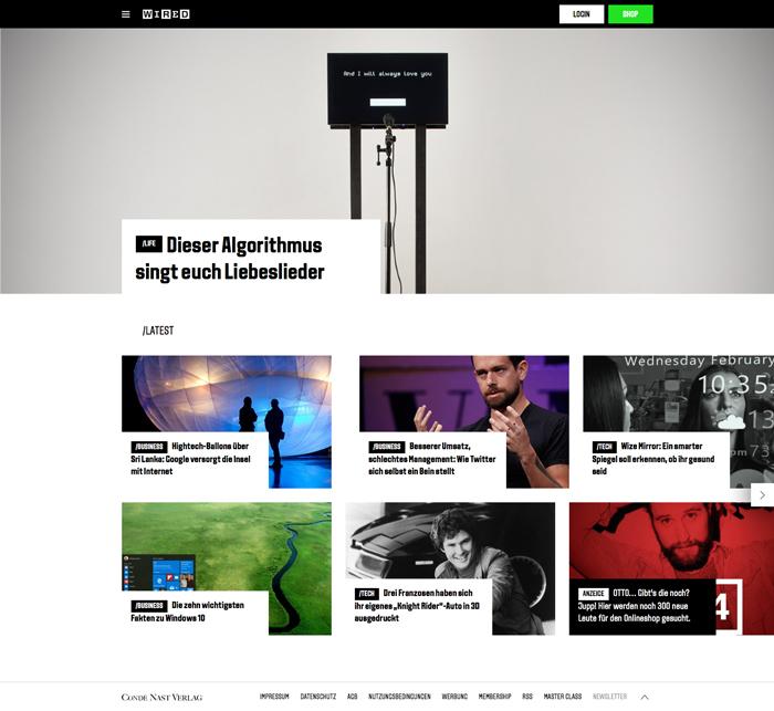 magazine Archive - Martin Backes - Official WebsiteMartin Backes ...