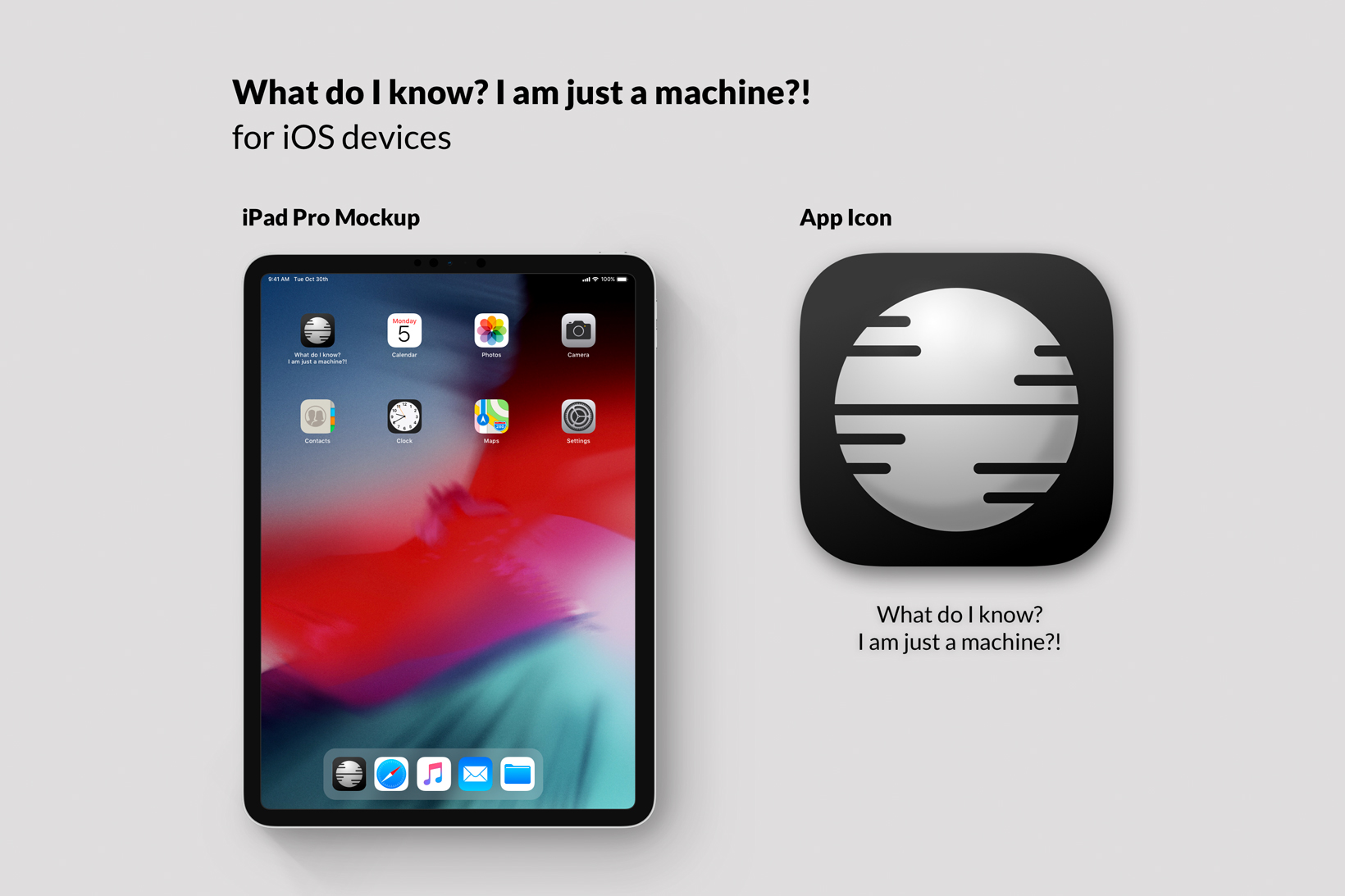 What do I know? I am just a machine?! – Martin Backes